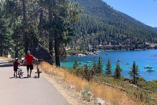 Visite d'une journée à vélo autoguidée du lac Tahoe