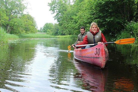 Self-guided canoe trip in Soomaa...