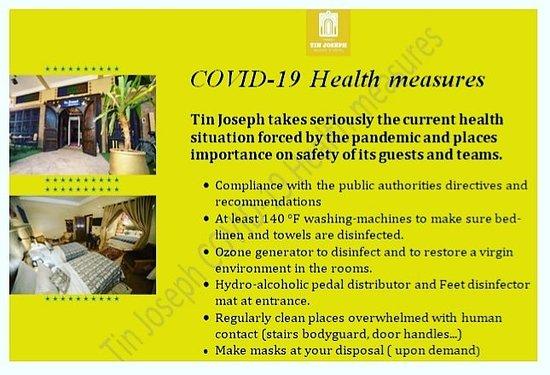 Tin Joseph COVID-19 Health measures