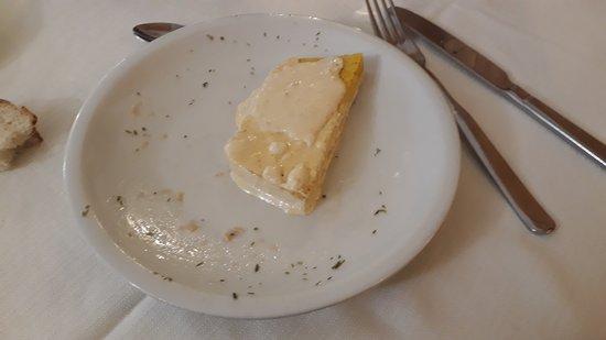 """Polenta grigliata con bagna caoda """"leggera"""""""