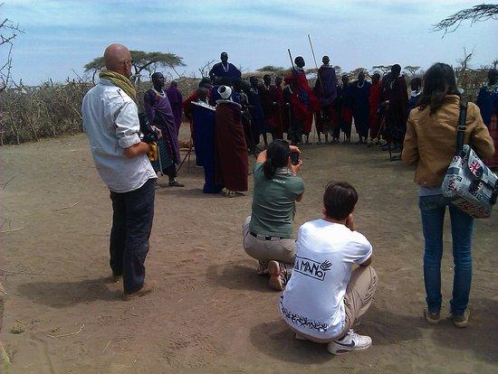 Lake Manyara Maasai village visits in Tanzania.