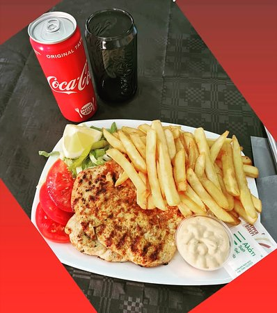 Chickenfillet with fries