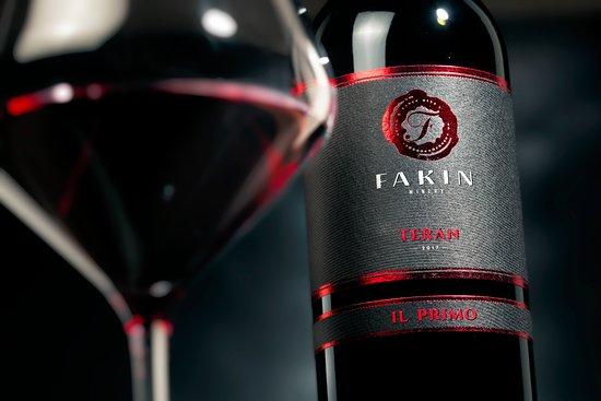 """Motovun, Croatia: Teran """"Il Primo"""" Dry red wine aged in barrique barrels"""