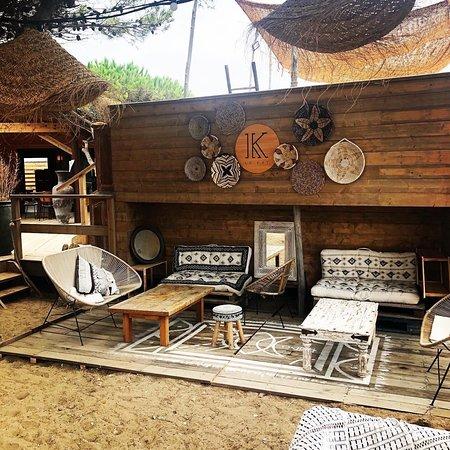 Le Kat lounge bar à La Franqui - Leucate - restaurant bistronomique - tapas - cocktails - bord de plage