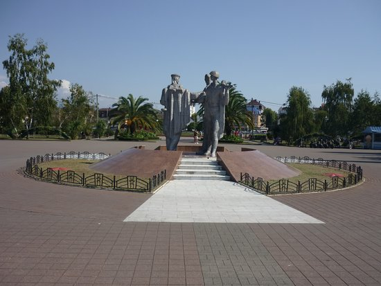 Monument to Adlers who died during the Great Patriotic War