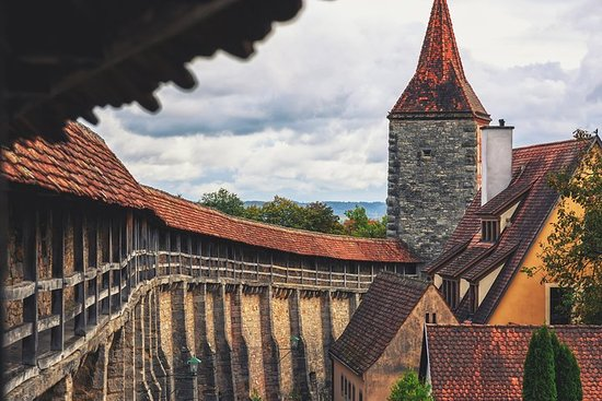 Romantisk vei: Rothenburg ob der Tauber og mer privat tur for grupper