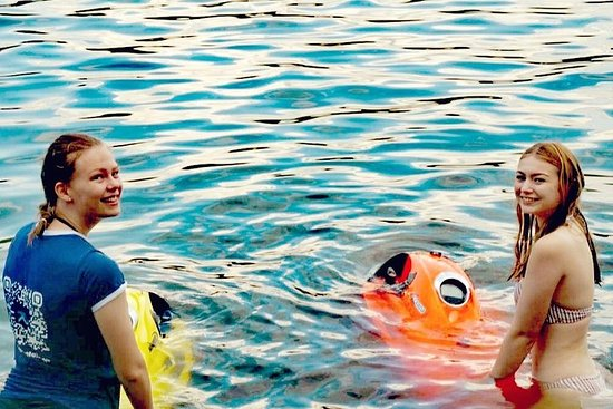 Rent Seabob. Snorkel and dive like a dolphin.