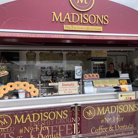 Madison's #1 for coffee & donuts