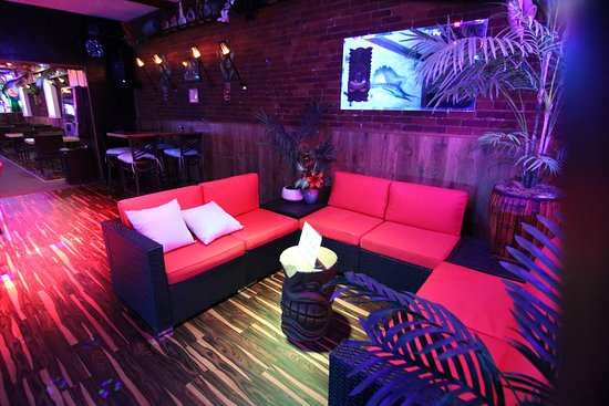 Reserve the VIP area in the back (couches) for your party of 4 or more!