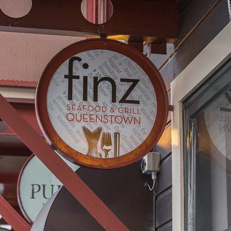 Finz outside sign