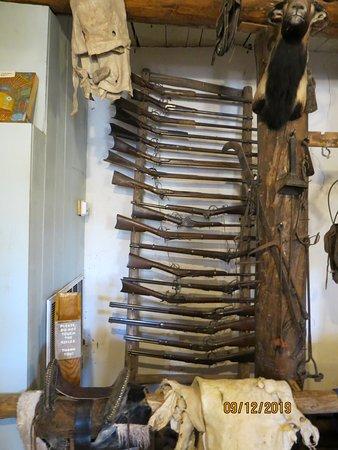 Ganado, AZ: The Rifle Rack & Historic Firearms in the 'Rug Room'
