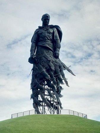 Rzhevskiy Memorial to a Soviet Soldier