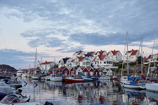 Typical coastal West Sweden/Bohuslän view