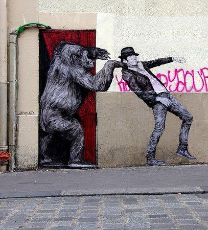 Párizs, Franciaország: Street Art 43