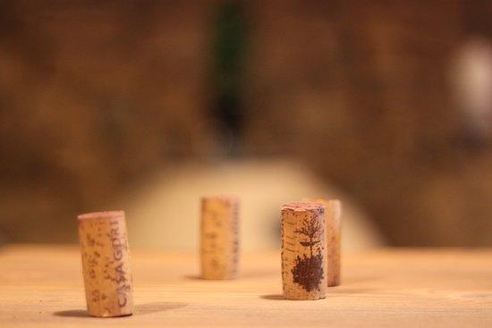 Behind Casagori wines