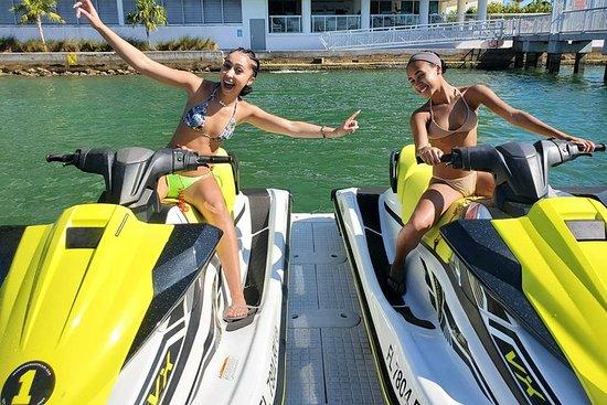 Eine Stunde geführte Jet-Ski-Tour durch Miami