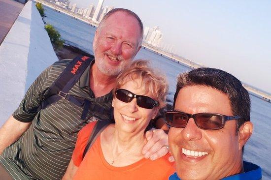 5 timer bytur og Panama Canal...