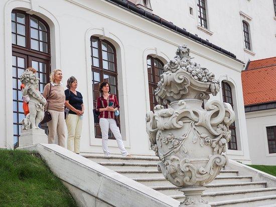 Old Town Tour in Bratislava by Prešporáčik Oldtimer: Bratislava castle I.