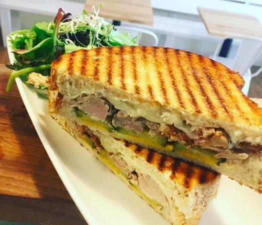 Grilled Cubano Sandwich