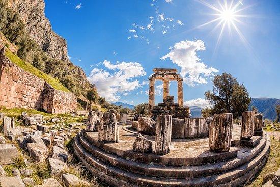 从雅典到德尔斐和阿拉霍瓦的梅赛德斯私人全日游