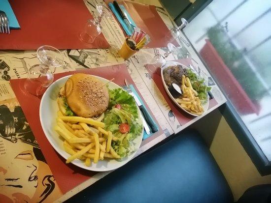 Saint-Savinien, فرنسا: Hamburger maison
