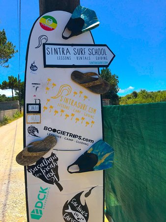 you have arrived at Sintra Surf School