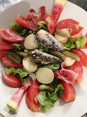 Salade sardine pommes de terre