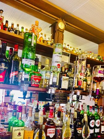 A large selection of spirits are also available.