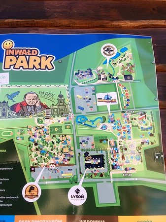 Inwald, Πολωνία: Map of the park