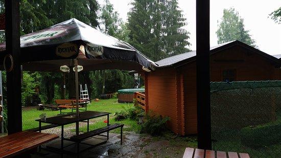 Svojanov, Tsjechië: Stanování v kempu
