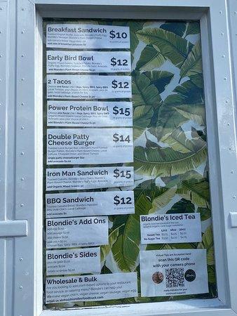 Blondie's Plant-Based Food Truck