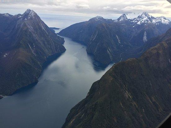 Milford Sound Scenic Flyover ex Queenstown: Milford Sound