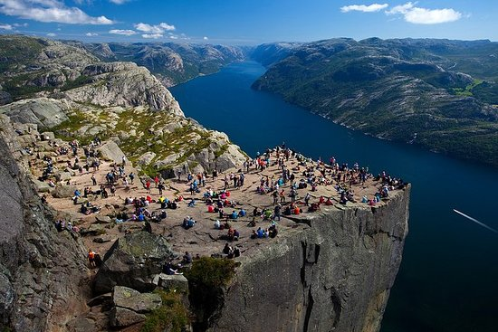 Experience the magnificent Lysefjord...