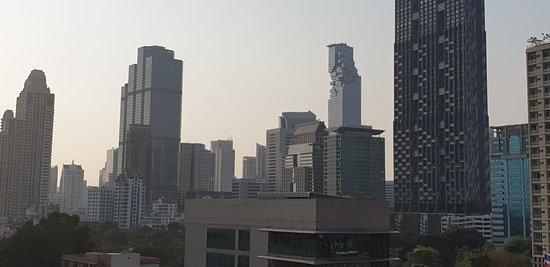 Mega Hochhäuser vom Dachpool aufgenommen! Super!