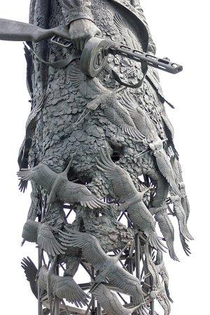 Увеличенный элемент памятника.
