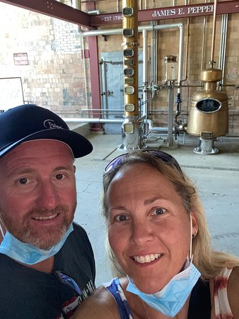 Guided Tour of James E. Pepper Distillery Ticket Fotografie