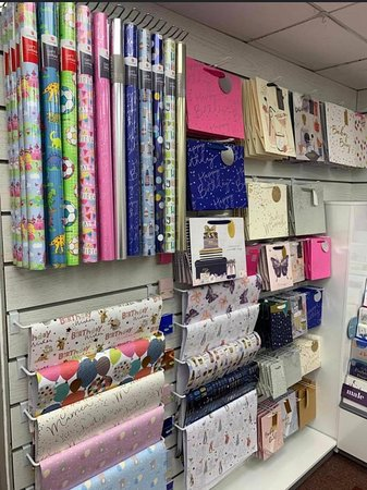 Gift wrap at Robyns Nest