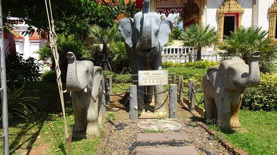 Tesoros de la bahía de Phang Nga: Tempel