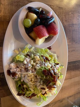 Southwest Chicken Salad and Fruit Bowl