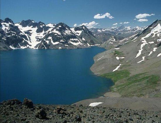 Região de Maule, Chile: Los servicios turísticos que ofrece el lugar son espectaculares por ejemplo esta hermosa vista de la laguna teno