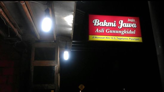Menu. - Ảnh của Bakmi Jawa Asli Gunung Kidul Tegalyoso ...