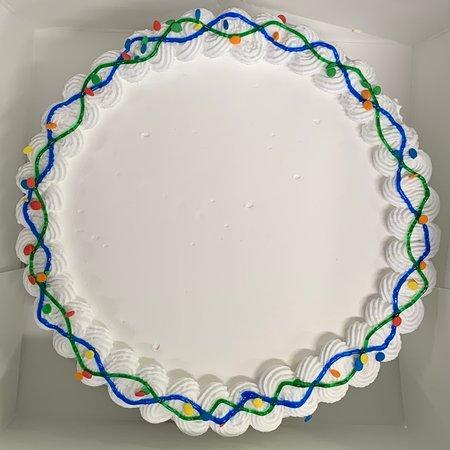 """7"""" Confetti Cake"""