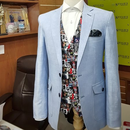 One cool blazer  by Stylo's Collection.   We offer fashionable suits/clothing with top-notch quality tailoring. We tailor, manufacture suits, shirts for brands, entrepreneurs worldwide.   Order online, visit our store or contact us for business partnership.  Email : styloitbkk@gmail.com WhatsApp +66 (0) 8 9783 6661  Website: www.stylocollection.com  #Styloscollection #Fashion #GQ #Bespoke #Blazer #Suit #Tailor #Mastertailor #Kenny #Bangkok_Best_Tailor #Fashion_blogger #Fashion_blog #Supplier