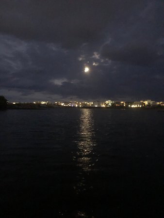 Full Moon on the Lagoon