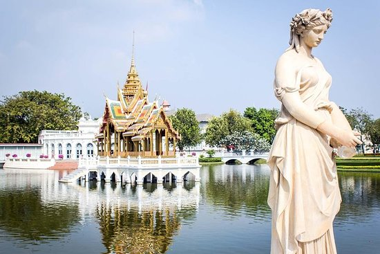 Ayutthaya Tempel Tour auf der Straße...