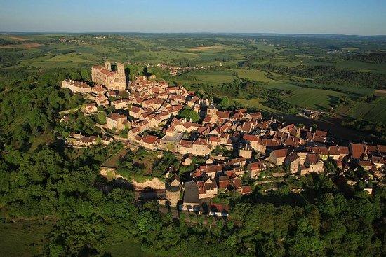 The historic walk, walk around Vézelay