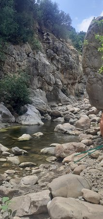 excursion by raft to the gorges of Tiberius and walk in the Pollina stream 사진