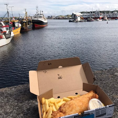 The best fish and chips