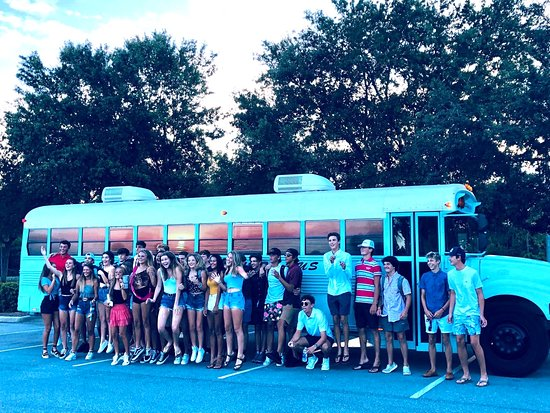 Beach  Party Bus (up to 33 ppl ) / karaoke bus