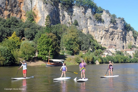 Cenac-et-Saint-Julien, Ranska: Stand Up Paddle on river Dordogne